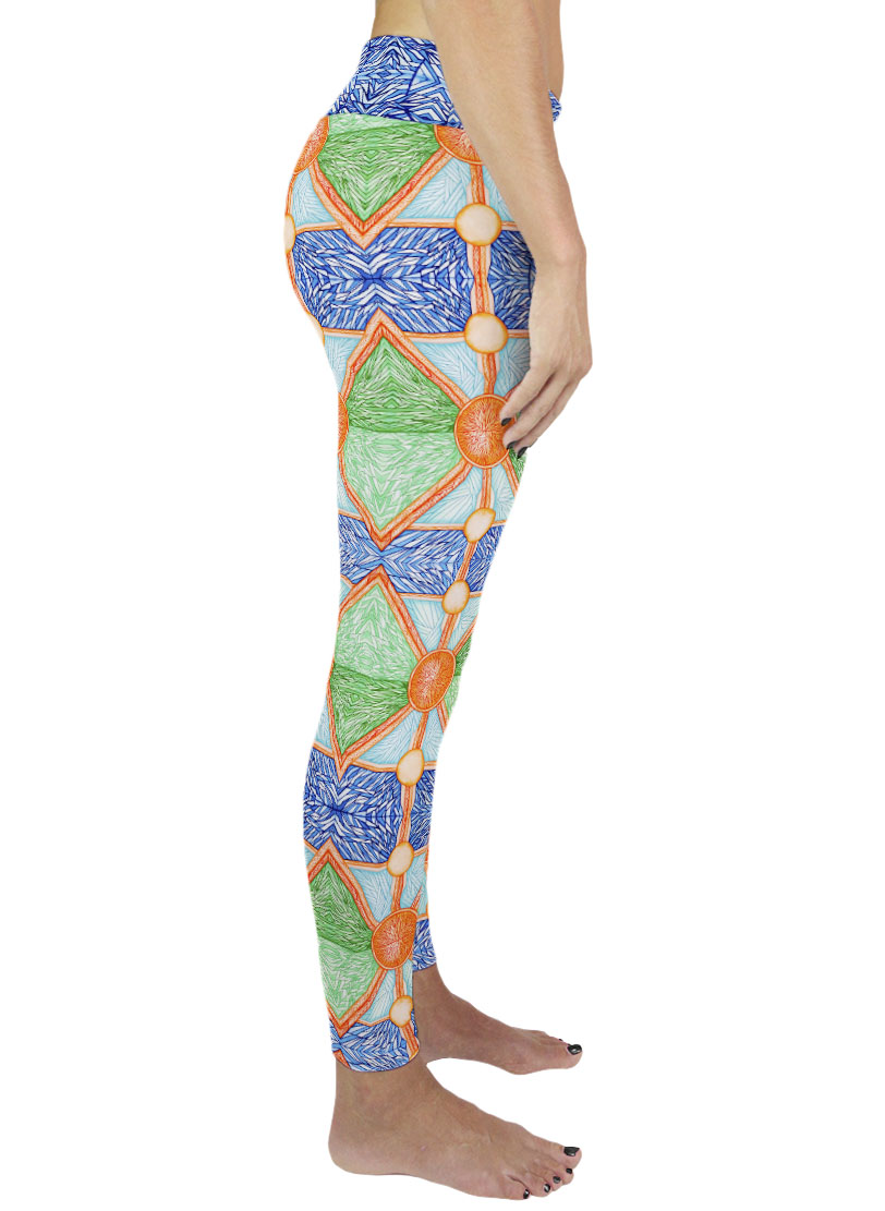 yoga art legging