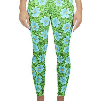 Flower print legging