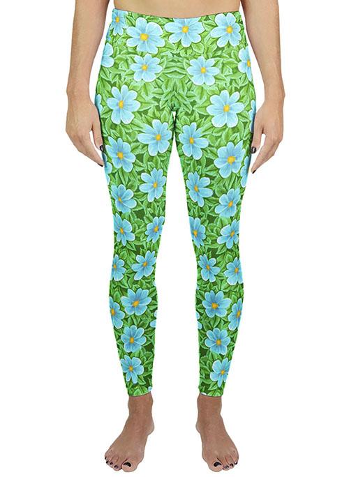 Flower print legging
